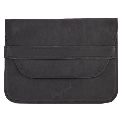 Bagind Naped Sirius - Dámský i pánský kožený obal na iPad černý, ruční výroba, český design