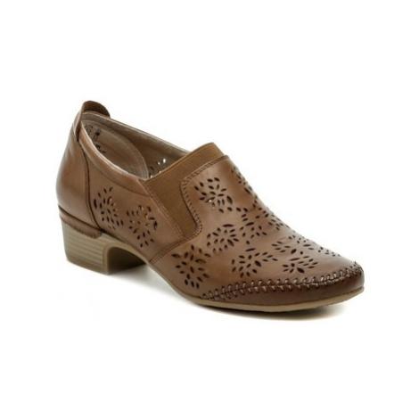 Jana 8-24315-26 hnědá dámská obuv Hnědá