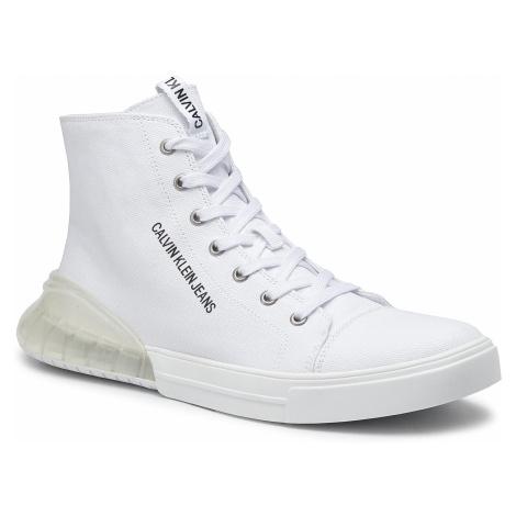 Sneakersy CALVIN KLEIN JEANS - Merlin B4S0081 White/Clear