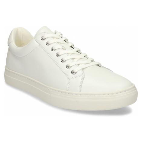 Bílé kožené pánské tenisky Vagabond