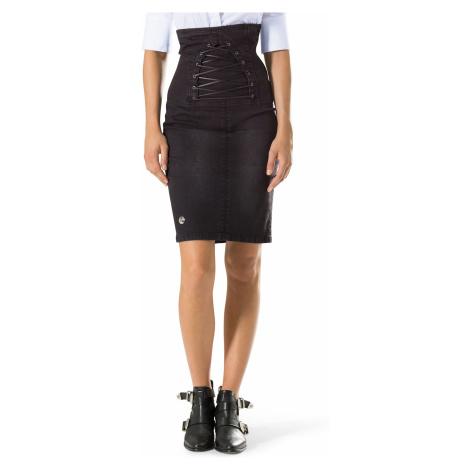 Černá džínová sukně - PHILIPP PLEIN