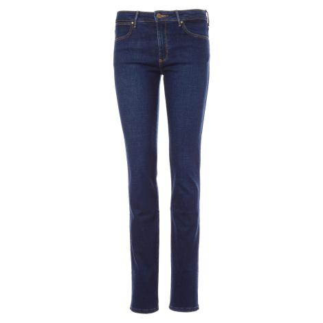 Wrangler jeans Slim Night Blue dámské tmavě modré