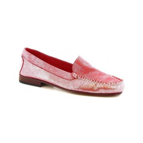 Leonardo Shoes 318 ORION SOTO Růžová