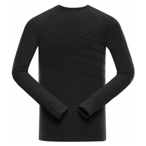 ALPINE PRO KRATHIS 5 Pánské spodní triko s dlouhým rukávem MUNS060990 černá