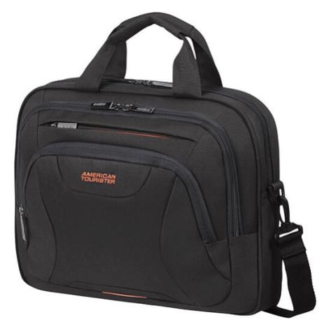 """American Tourister Taška na notebook At Work Laptop Bag 33G 10 l 13.3""""-14.1"""" - černá/oranžová"""