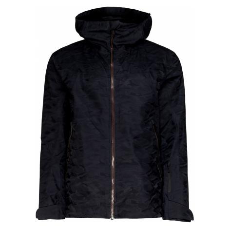 Lyžařská bunda Toni Sailer STREIF vzorkování|černá