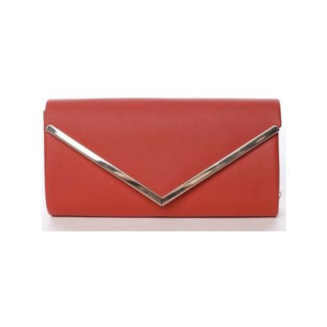 Michelle Moon Atraktivní dámské psaníčko červené - Brush Červená
