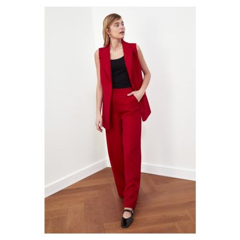 Trendyol Red Wide Leg Pants