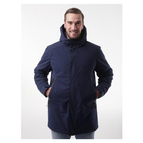NAKIO pánský zimní kabát modrá LOAP