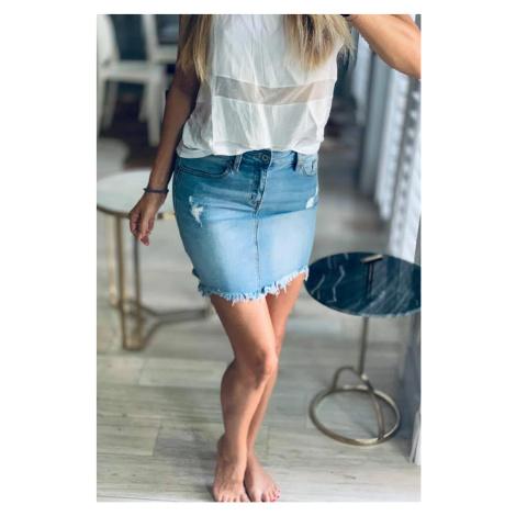 KanCan USA KanCan dámská džínová sukně KC6203L