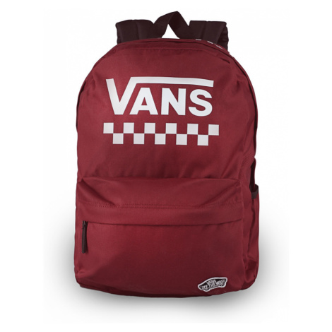 Batoh Vans Wm Street Sport Realm Backpack Barva: červená