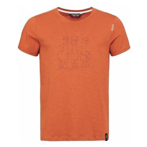Chillaz Alpaca Gang triko KR pánské, oranžová