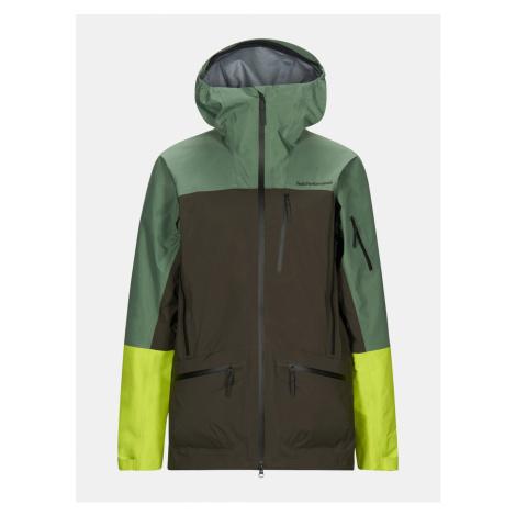 Bunda Peak Performance M Vislight Pro Jacket - Zelená