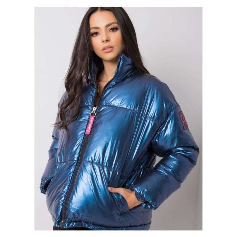 SUBLEVEL Dark blue winter jacket Fashionhunters