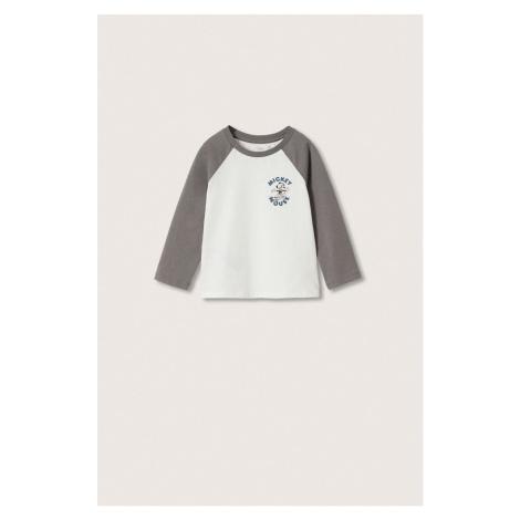 Mango Kids - Dětské tričko s dlouhým rukávem Mroller