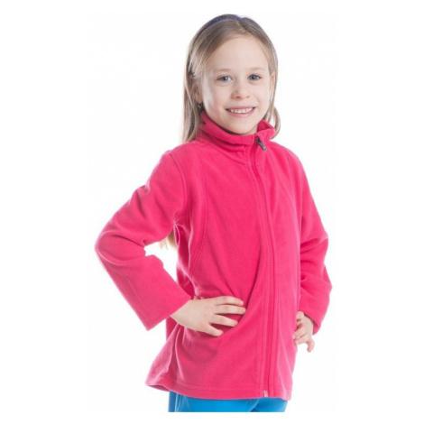 Dětská mikina Alpine Pro KIERO - růžová