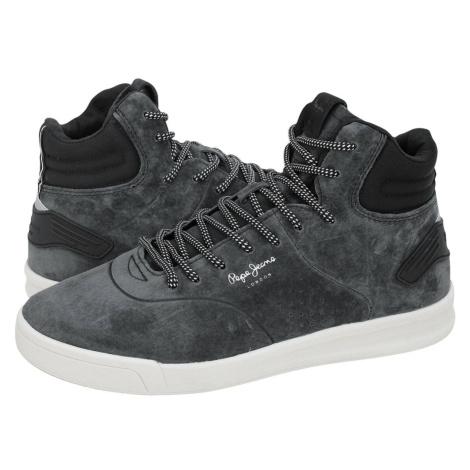 Pepe Jeans pánské šedé kotníkové boty Boot