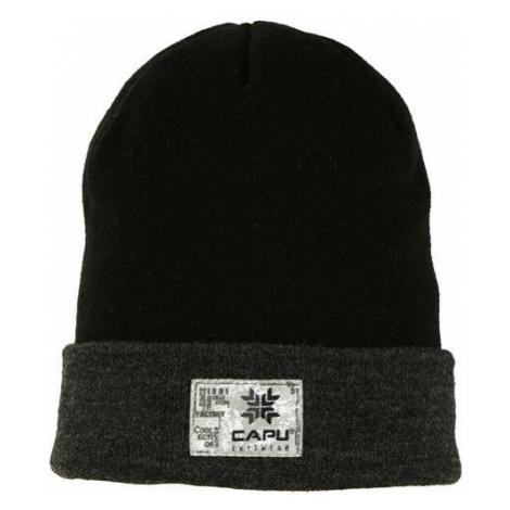 Čepice Capu 1701 E M - černá/černá