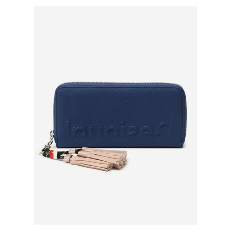 Embossed Half Peněženka Desigual Modrá