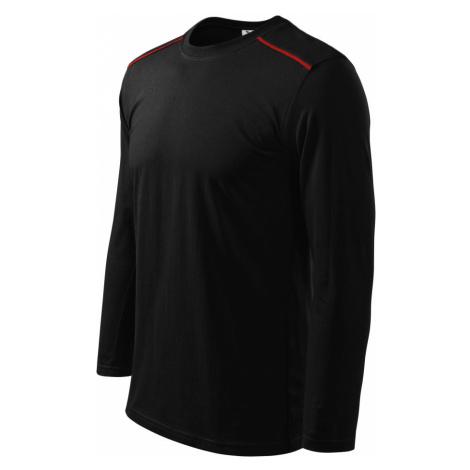 Malfini Long Sleeve Unisex triko 11201 černá
