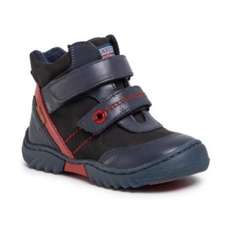 Šněrovací obuv Lasocki Kids CI12-FLICK-02 Přírodní kůže (useň) - Nubuk