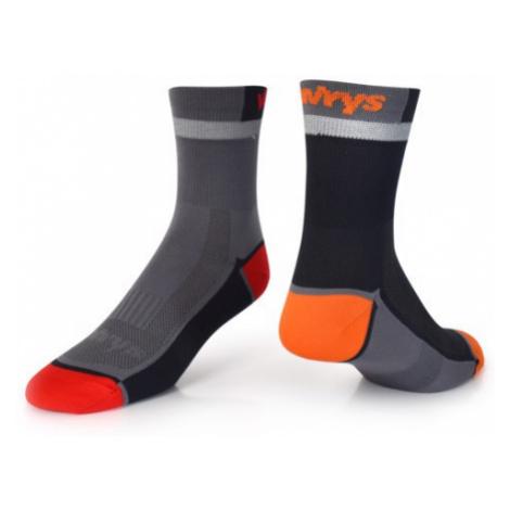 Ponožky Vavrys Trek Cyklo 2-pack šedá
