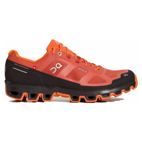 Boty On Running CLOUDVENTURE WATERPROOF MAN červená|oranžová