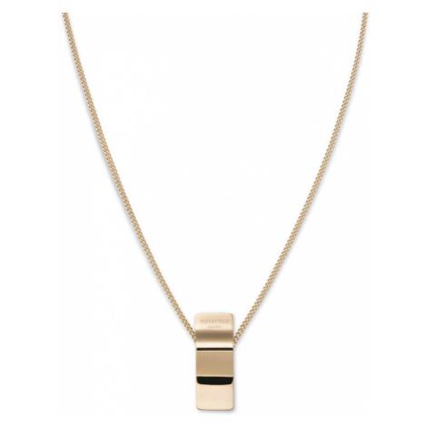 Rosefield náhrdelník Lois Wave Charm necklace Gold