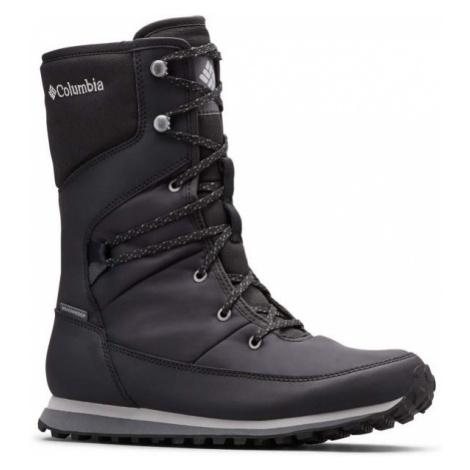 Columbia WHEATLEIGH MID černá - Dámská zimní obuv