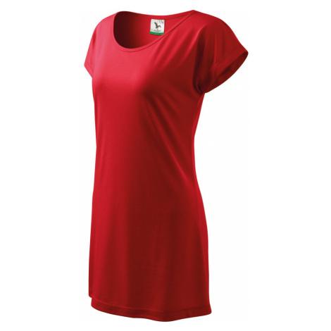 Malfini Love 150 Triko/šaty dámské 12307 červená