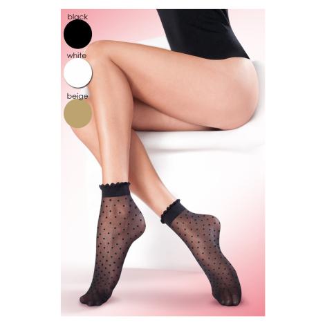 Dámské ponožky Puntina beige Univerzální Gabriella
