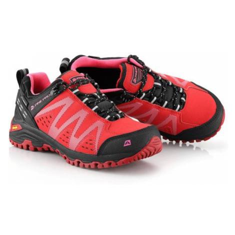 ALPINE PRO Chefornak 2 Růžová / Fialová Outdoorová obuv s membránou Ptx UBTT242810