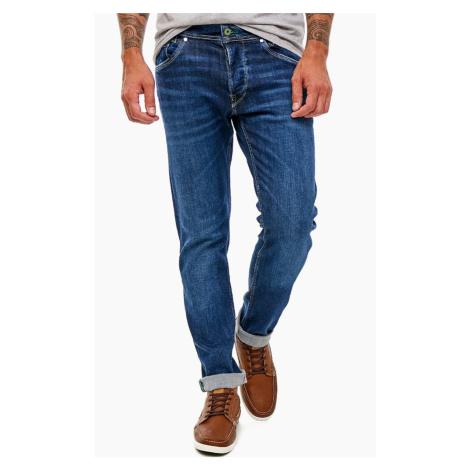 Pepe Jeans pánské tmavě modré džíny Spike