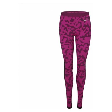 Dámské funkční prádlo (kalhoty) Alpine Pro EMERA - tmavě růžová