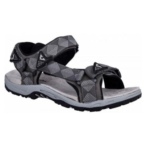 Crossroad MADDY šedá - Pánské sandály