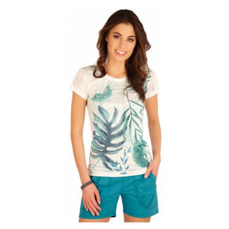 Dámské tričko s krátkým rukávem Litex 5A397 | bílá