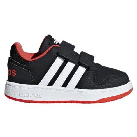adidas HOOPS 2.0 CMF I černá - Dětské volnočasové boty