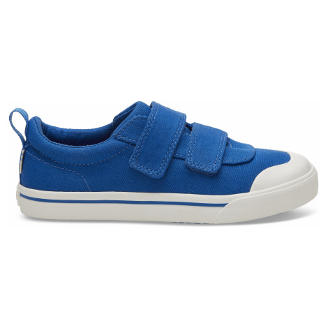 Doheny Blue Canvas YOUTH Sneak Toms