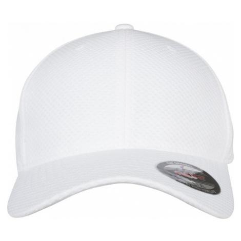 Flexfit 3D Hexagon Jersey Cap - white Urban Classics