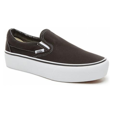 Boty Vans Classic Slip-On Platform black