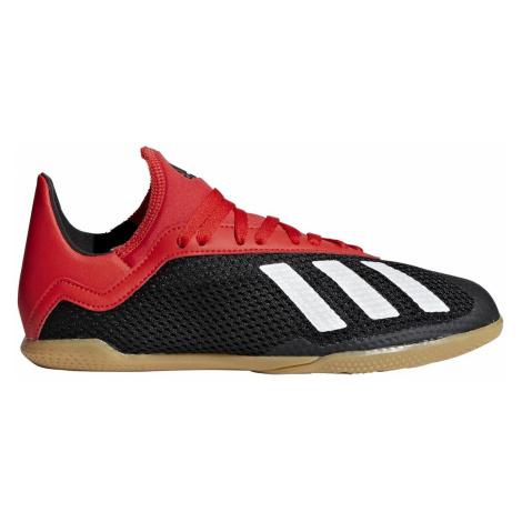 Dětské kopačky adidas X TANGO 18.3 INDOOR Červená / Černá