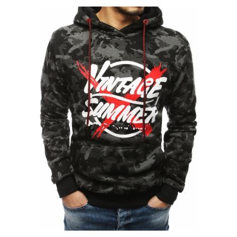 Dark gray men's hoodie BX4278 DStreet