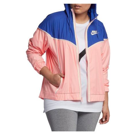 Dámská bunda Nike Sportswear Windrunner Modrá / Růžová