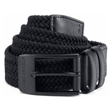 Under Armour Braided 2.0 Belt Pánský pásek 1306538-001 Black