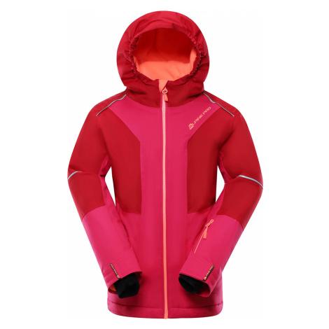 ALPINE PRO MIKAERO 3 Dětská lyžařská bunda KJCP153445 purpurová