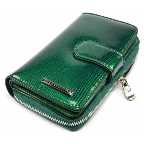 Dámská zelená peněženka GREGORIO
