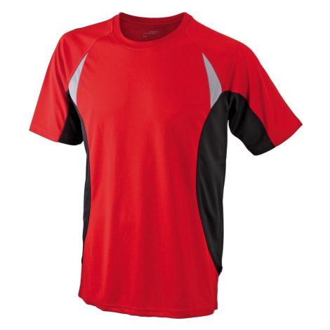 James & Nicholson Pánské funkční tričko s krátkým rukávem JN391
