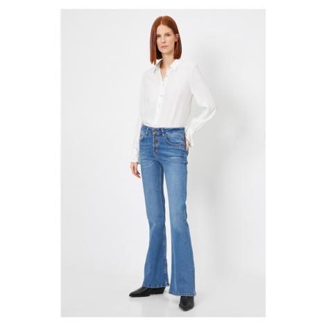 Koton Women Mid Indıgo Jeans