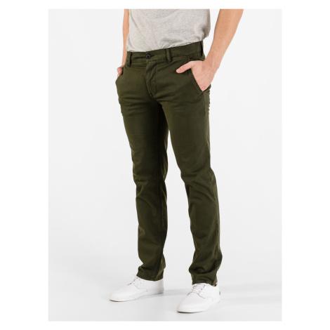 Kalhoty BOSS Zelená Hugo Boss