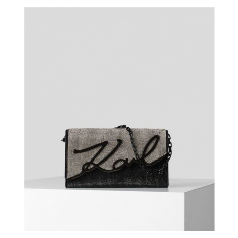 Kabelka Karl Lagerfeld K/Signature Baguette Sparkle